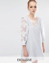 Sister Jane Marshmallow Pinafore Dress