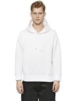 Neil Barrett Oversized Hooded Neoprene Sweatshirt