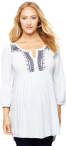 A Pea in the Pod Beaded Detail Maternity Tunic
