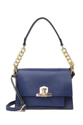 Persaman New York Fiffi Pebbled Leather Shoulder Bag