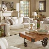 HomeSullivan Sydney 1-Piece Off-White Down-Filled Slipcovered Sofa