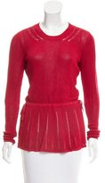 Maiyet Crew Neck Rib Knit Top w/ Tags