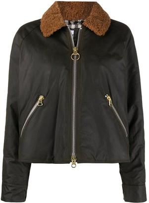 Barbour x Alexa Chung Floyd waxed jacket