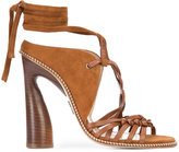 Paul Andrew Lindberg lace-up sandals - women - Goat Skin/Kid Leather - 36