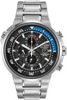 Citizen Blue & Silvertone Endeavor Bracelet Watch - Men