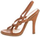 Prada Knotted Slingback Sandals