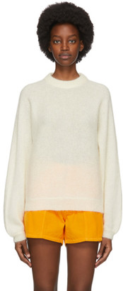 ERL Off-White Mohair and Alpaca Sweater