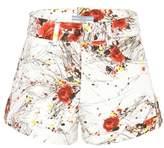 Prada Exclusive to mytheresa.com – printed denim shorts