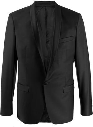 Karl Lagerfeld Paris logo-print padded jacket