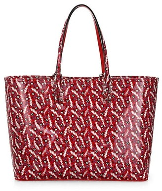 Christian Louboutin Cabata Print Leather Tote