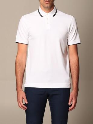 Ermenegildo Zegna Polo Shirt Stretch Cotton Polo Shirt With Logo
