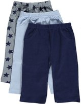 """Luvable Friends Baby Boys' """"Star Variety"""" 3-Pack Pants"""