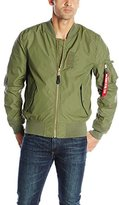 Alpha Industries Men's MA-1 Skymaster Water-Resistant Bomber Jacket