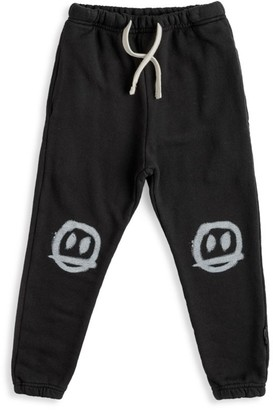 Nununu Baby's, Little Boy's & Boy's Sprayed Smile Sweatpants