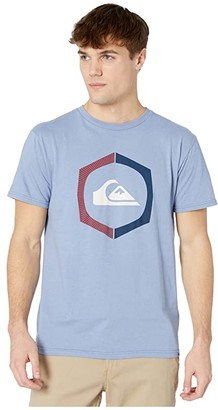 Quiksilver Sure Thing Short Sleeve Tee (Stone Wash) Men's Clothing