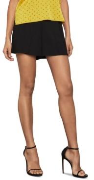 BCBGMAXAZRIA Pleat-Front Shorts