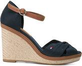 Tommy Hilfiger wedged sandals - women - Cotton/rubber - 36