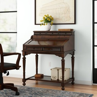 Three Posts Kerfoot Desk with Hutch