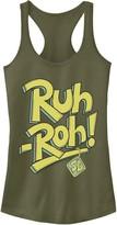 "Scooby-Doo Licensed Character Juniors' Ruh-Roh"" Graphic Tank"
