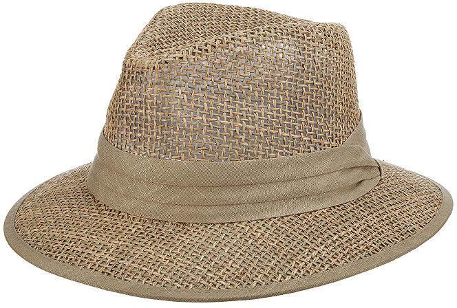 ST. JOHN'S BAY Open Weave Safari Hat