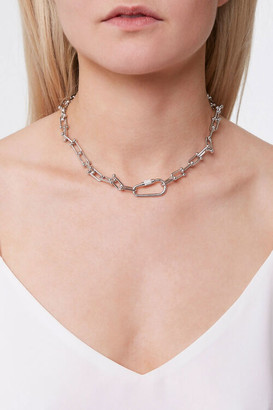 Forever 21 Toggle Chain Choker Necklace