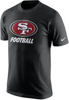 Nike Men's San Francisco 49ers Facility T-Shirt