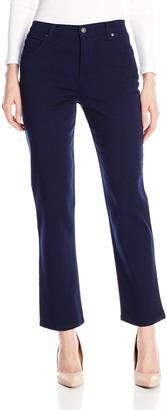 Gloria Vanderbilt Women's Amanda Classic Jean Midnight Blue 8 Short