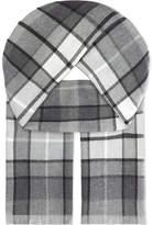 Johnstons Buchanan Tartan Merino-wool Scarf