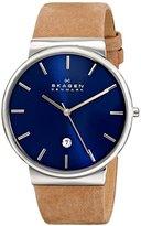Skagen Men's SKW6103 Ancher Light Brown Leather Watch