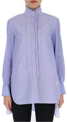 Chloé Ruffled Trim Longline Shirt