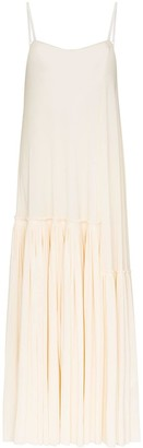 Jil Sander Pleated Slip Dress