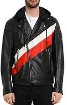 Diesel Solove Mixed-Media Leather Jacket