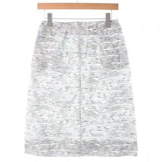 Marni White Cotton Skirt for Women