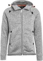 Superdry Storm Double Cardigan Grey Grit
