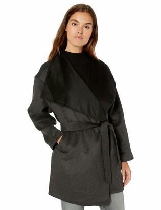 Daily Ritual Amazon Brand Women's Double-Face Wool Short Coat