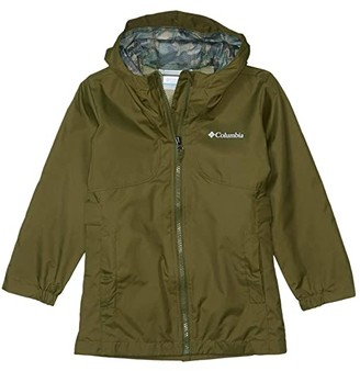 Columbia Kids City Trailtm Jacket (Little Kids/Big Kids) (New Olive) Girl's Clothing