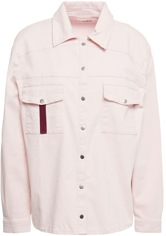 Thumbnail for your product : BA&SH Embellished Denim Shirt