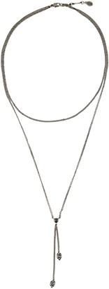 Alexander McQueen Skull Layered Necklace