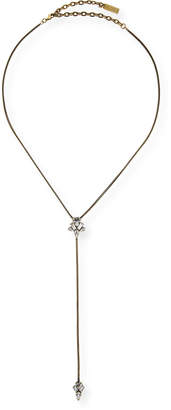 Auden Arya Crystal Lariat Necklace