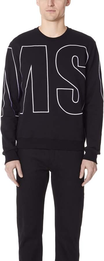 MSGM Giant Sweatshirt