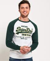 Superdry Premium Goods Raglan Crew Sweatshirt