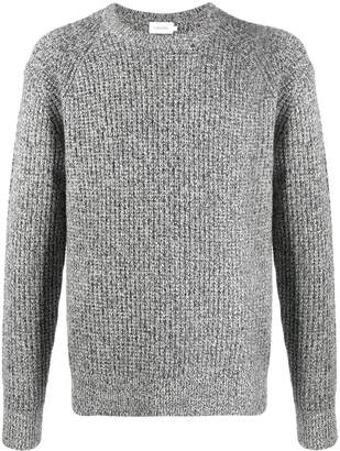Calvin Klein long sleeved cable-knit jumper