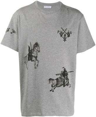 J.W.Anderson equestrian print T-shirt