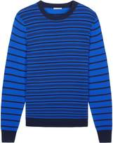 Jaeger Men's Fine Stripe Crew