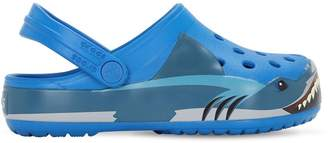 Crocs Shark Print Rubber