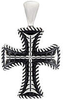 American West Sterling Silver Heart or Cross Bold Enhancer