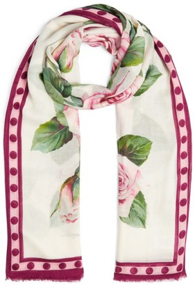 Dolce & Gabbana Floral Scarf