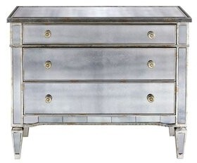 House Of Hamptonâ® Hollinger 3 Drawer Dresser House of HamptonA