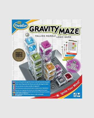 ThinkFun - Blue Games - Gravity Maze Game - Size One Size at The Iconic