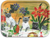 Avenida Home - Nathalie Lete In The Garden Of My Dreams Tray - Four Cats